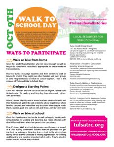 W2S Info Sheet for Schools